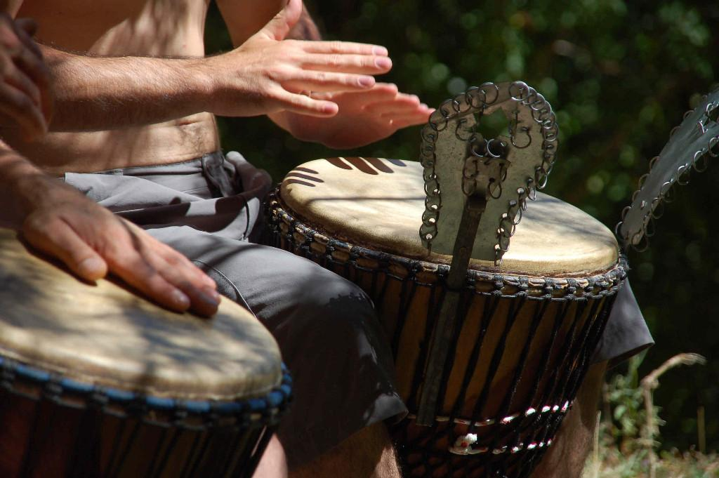 Percussions Africaines : djembé et doumdoum