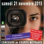 Affiche Festival Vidéo Voreppe 2015