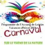 programme des activités de l'accueil de loisirs durant les vacances d'hiver 2019