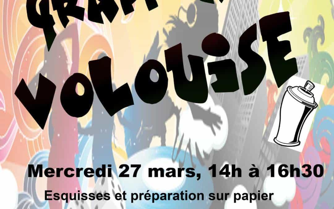 24. 25 et 27 mars – Graff à Vollouise