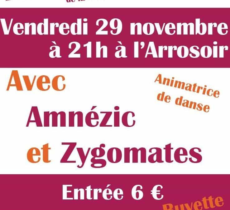 Bal folk – vendredi 29 nov. à 21h – l'Arrosoir, à Voreppe