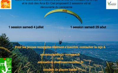 DECOUVERTE PARAPENTE
