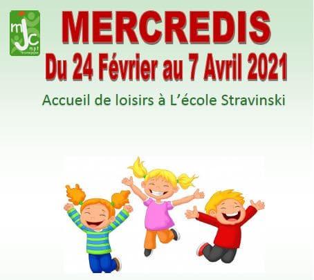 Accueil de Loisirs 3-12 ans mercredis après midi – Programme du 24 Février au 07 Avril 2021
